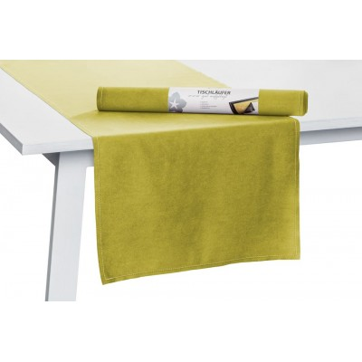 Dvipusė staltiesė Melva Lime