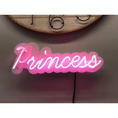 Neoninis užrašas Princess