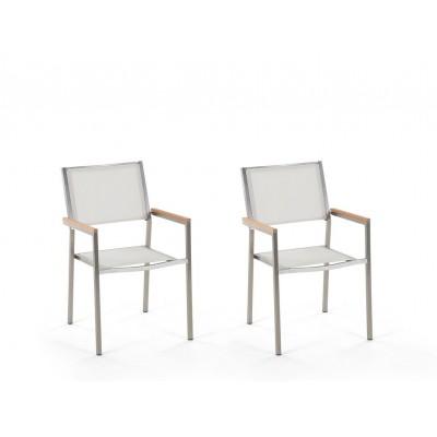 Dviejų lauko kėdžių komplektas Grosseto