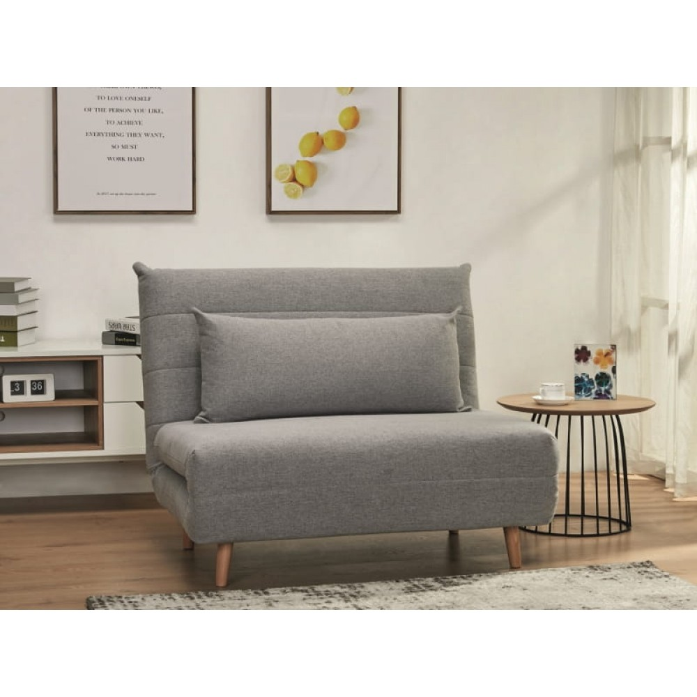 Fotelis - lova Futon medžiaginis 105 x 190 cm