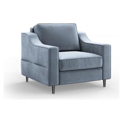 Fotelis Amaryllis Blue Grey