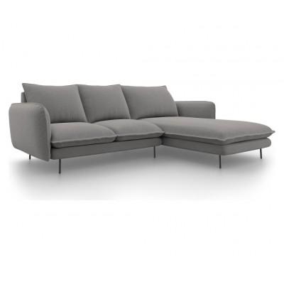 Kampinė sofa Vienna Gray