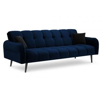 Trivietė sofa - lova Maestro Royal Blue Velvet