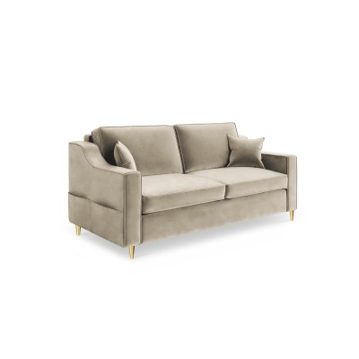 Dvivietė sofa Marigold Beige Velvet