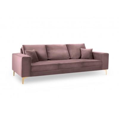 Trivietė sofa Basel Pale Rose Velvet
