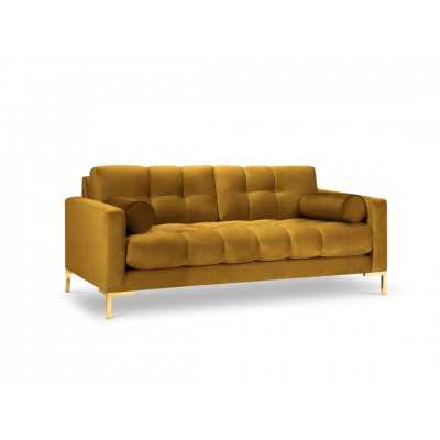 Dvivietė sofa Bali Yellow Velvet