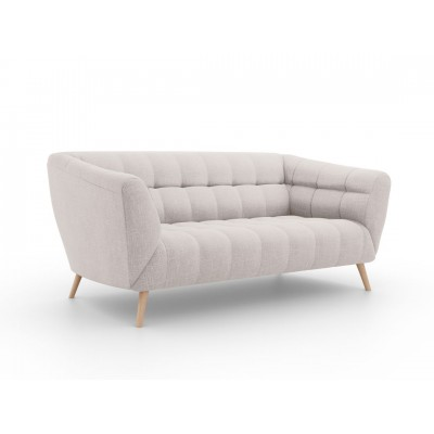 Dvivietė sofa Étoile Beige medžiaginė