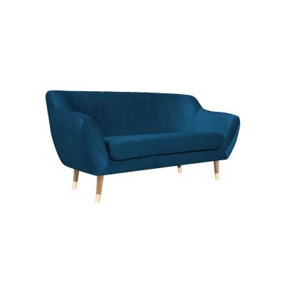 Dvivietė sofa Benito Velvet Blue