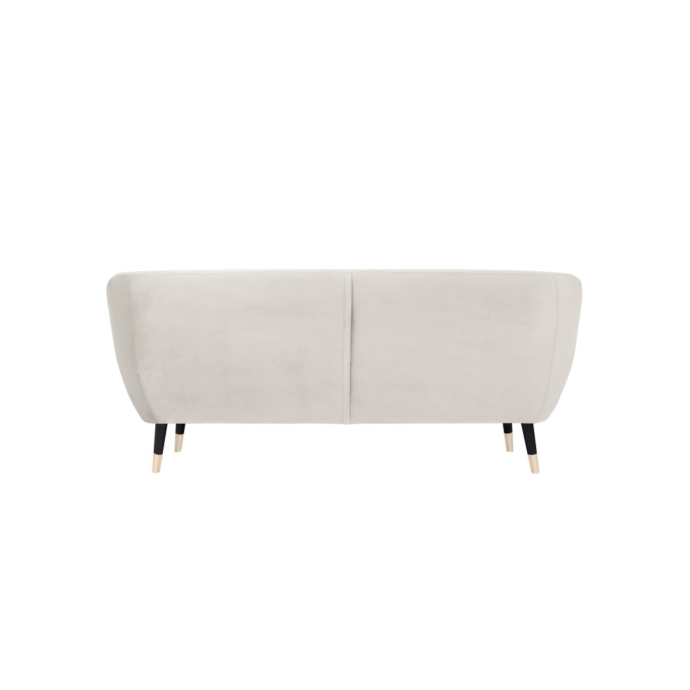 Trivietė sofa Benito Cream Velvet
