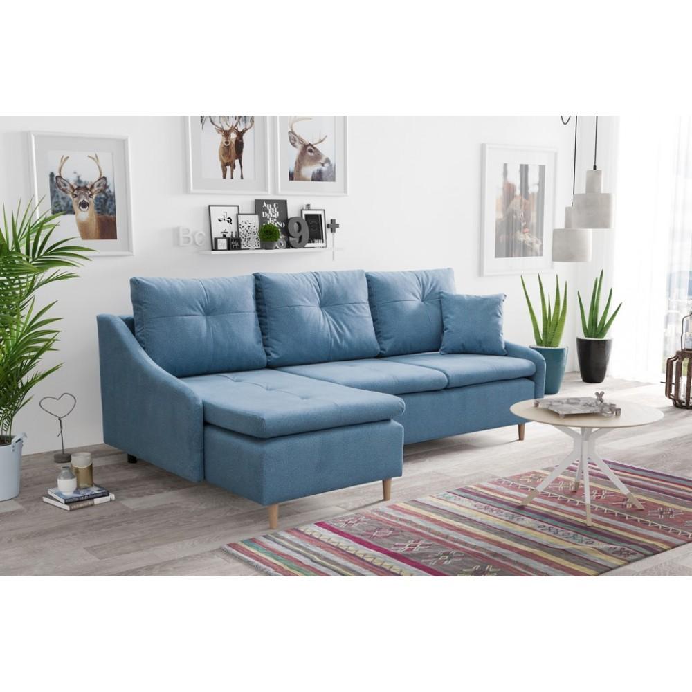 Kampinė sofa - lova Northern (universalus kampas)