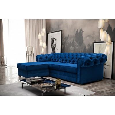 Kairinė kampinė sofa - lova Amorio