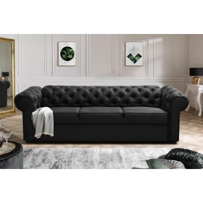 Trivietė sofa - lova Amorio Black