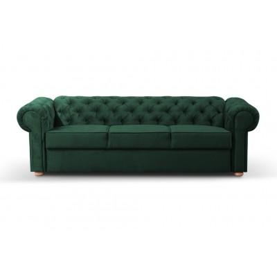 Trivietė sofa - lova Amorio Green