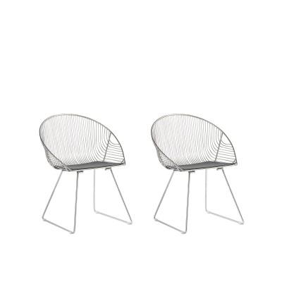 Dviejų kėdžių komplektas Aurora Silver