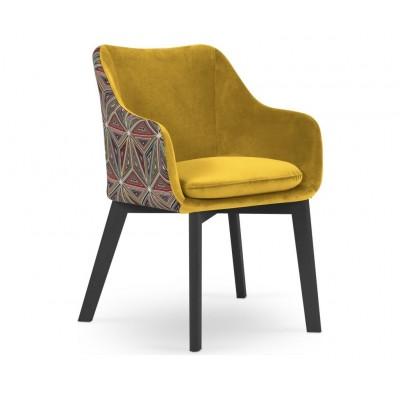 Kėdė - krėsliukas Leilani Yellow Velvet